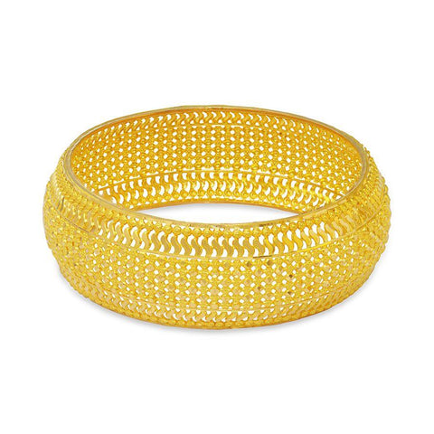 22 KT Yellow Gold Other Bangles and Kadas in 23.9 gms