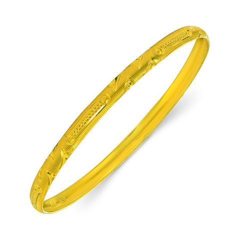 22 KT Yellow Gold Other Bangles and Kadas in 8.5 gms