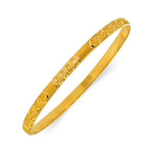 22 KT Yellow Gold Other Bangles and Kadas in 10.4 gms