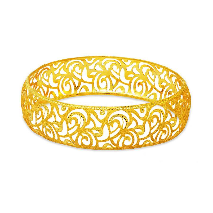 22 KT Yellow Gold Other Bangles and Kadas in 15.8 gms
