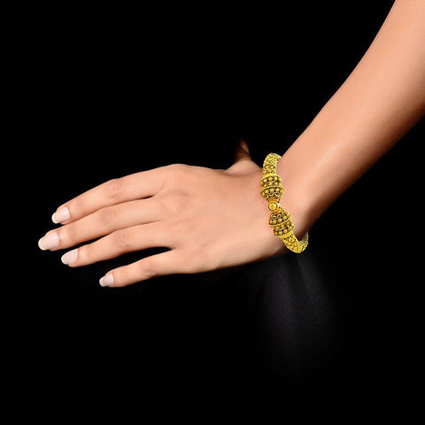 22 KT Yellow Gold Other Bangles and Kadas in 40 gms