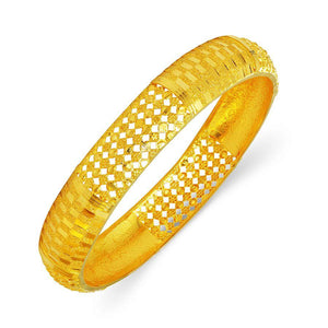 22 KT Yellow Gold Other Bangles and Kadas in 13.31 gms