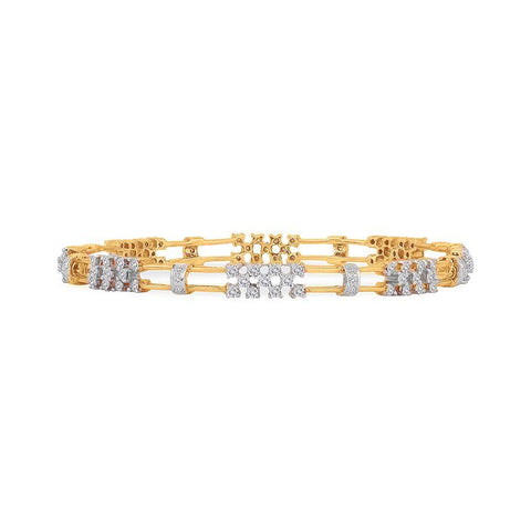 18 KT Yellow Gold Other Bangles and Kadas in 28.97 gms