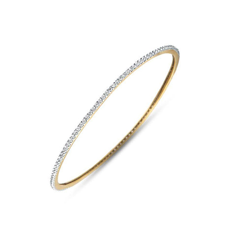 Image of Classic Round Diamond Bangle