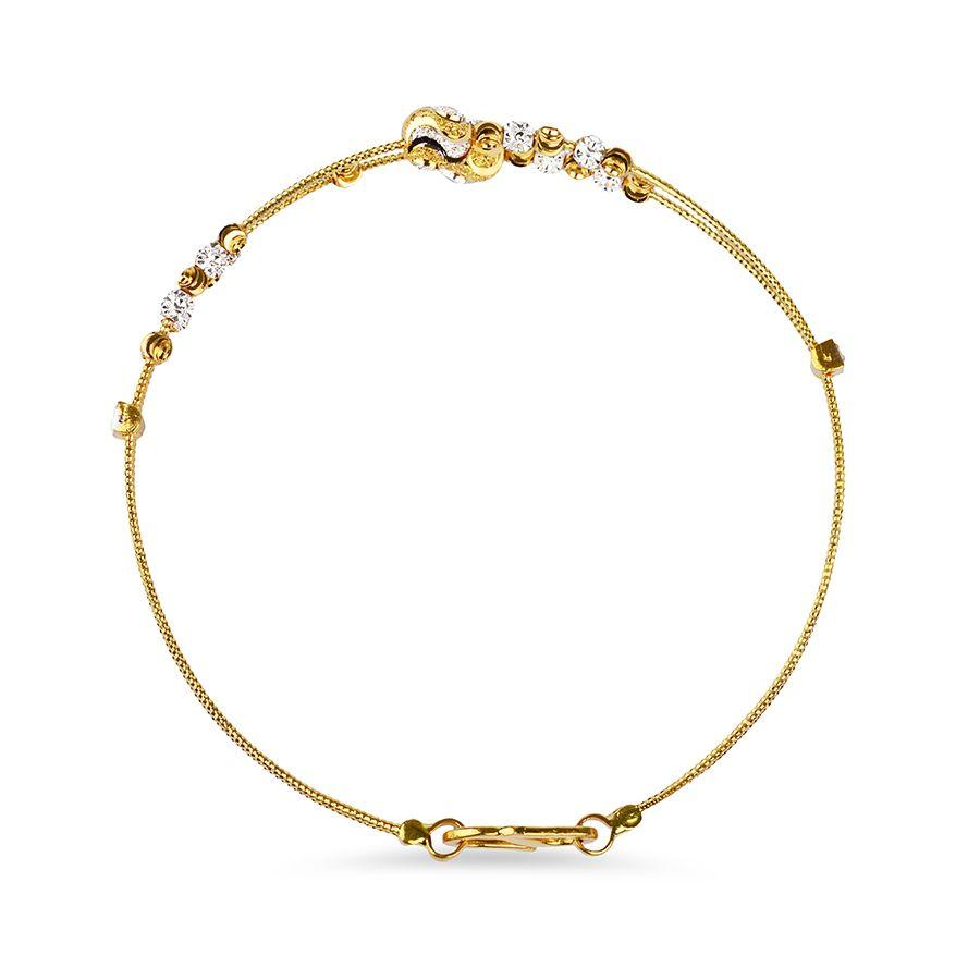 22 KT Yellow Gold Other Bracelets in 7.1 gms