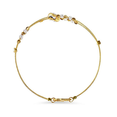 Image of 22 KT Yellow Gold Other Bracelets in 7.1 gms