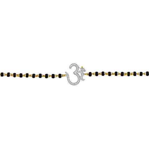 Image of Simplicity Moli Bracelet With Om Charm