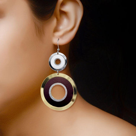 Image of Fashion Earrings in 13 gm