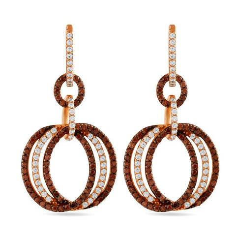 Image of Round In Round Danglers