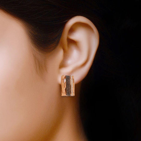 Image of Silver Comrade Earrings