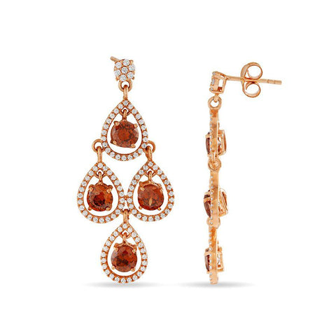 Image of The Autumn Chandelier Earrings