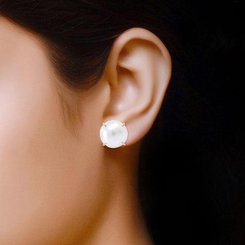 Image of Fresh Water Pearl Trendy Studs and Tops