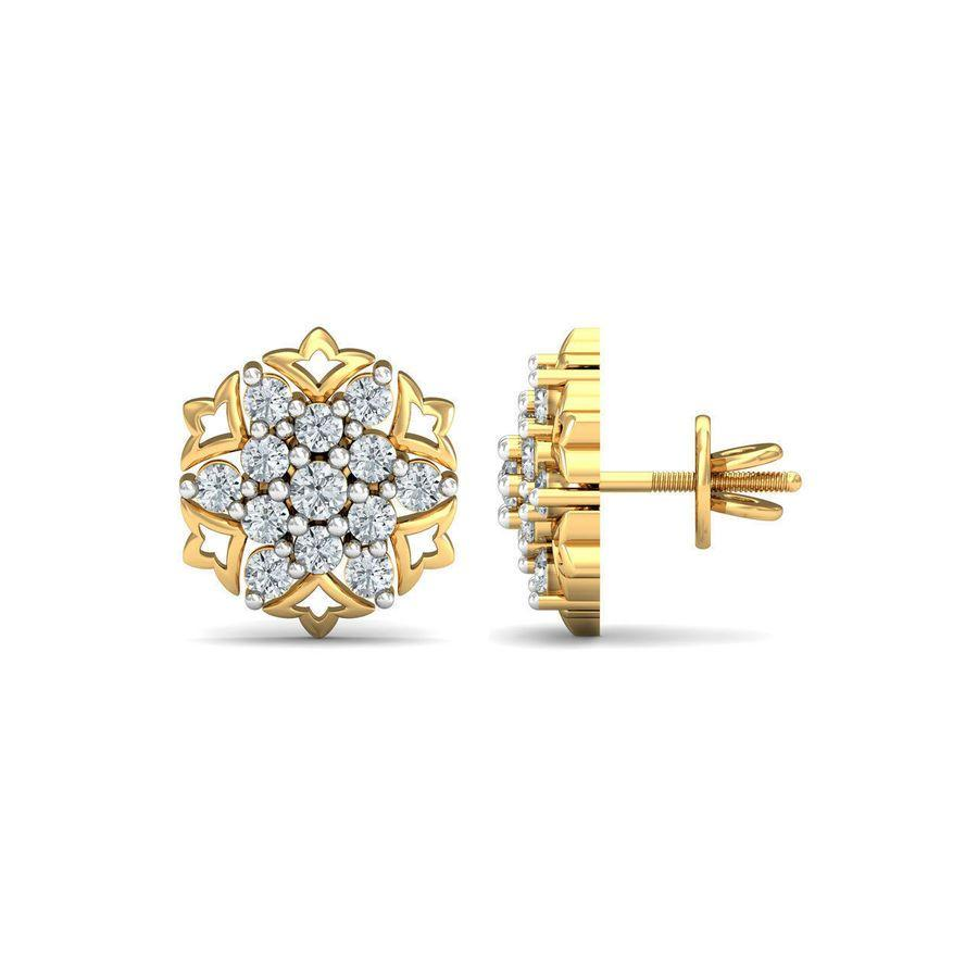 Diaashi Diamond Nakshatra Earrings