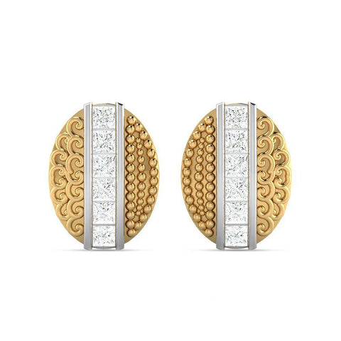 Image of Topaz Modern Studs and Tops