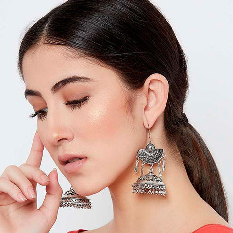 Image of Fashion Earrings in 99 gm