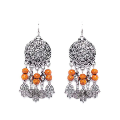 Fashion Earrings in 84 gm