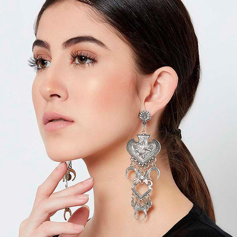 Fashion Earrings in 86 gm