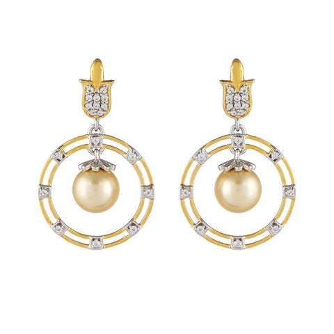 Image of 925 Silver Earrings with Pearls