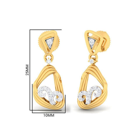 Image of Gorgeous Cube Earring