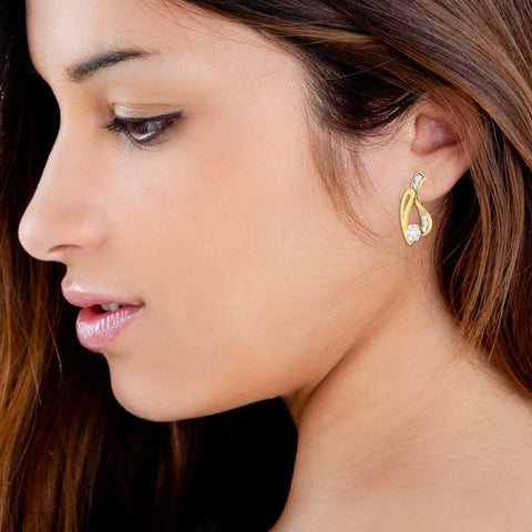 Night angle Earring