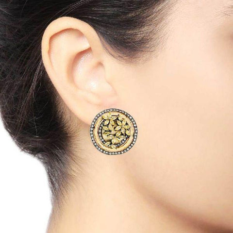 Floral Trance Stud Earrings