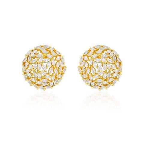 Cluster Marquise Earrings