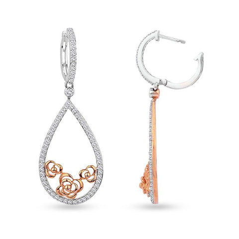 Trendy Hoops and Balis in Rose Gold