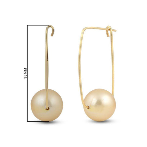 Parallele Earrings - Gold
