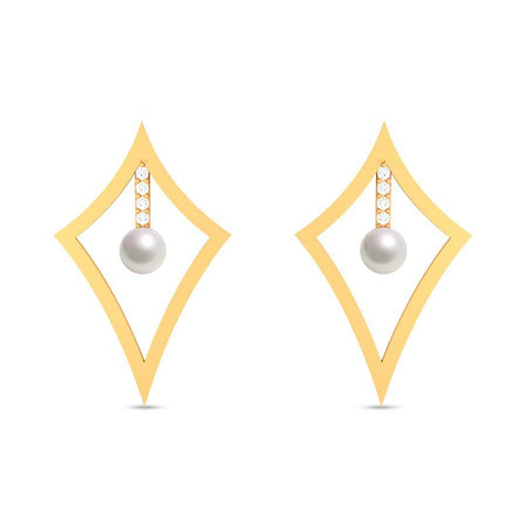 Fashion Pearl Modern Studs and Tops