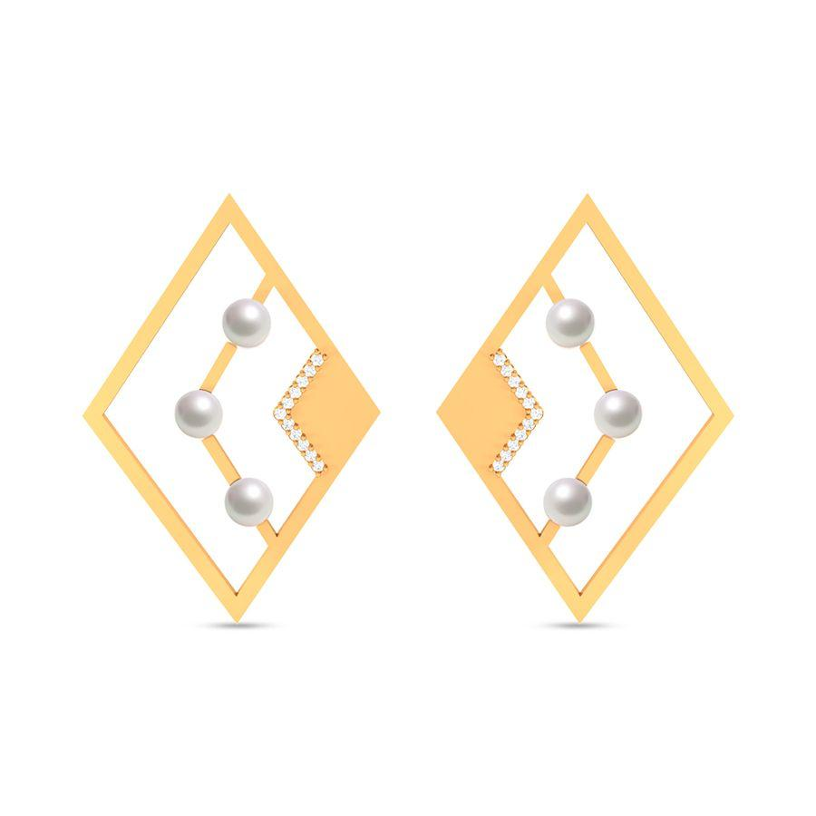 Fashion Pearl Modish Studs and Tops
