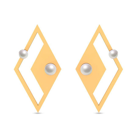 Image of Fashion Pearl Trendy Studs and Tops