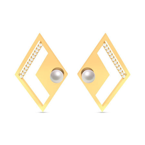 Fashion Pearl Trendy Studs and Tops