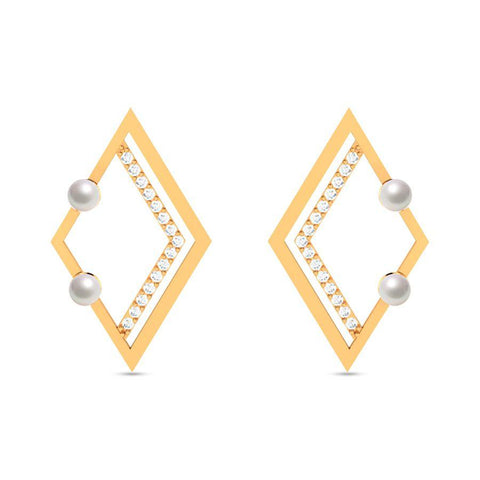Image of Fashion Pearl Modish Studs and Tops