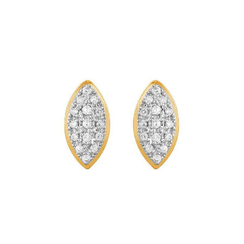 Stylish Studs and Tops in Yellow Gold