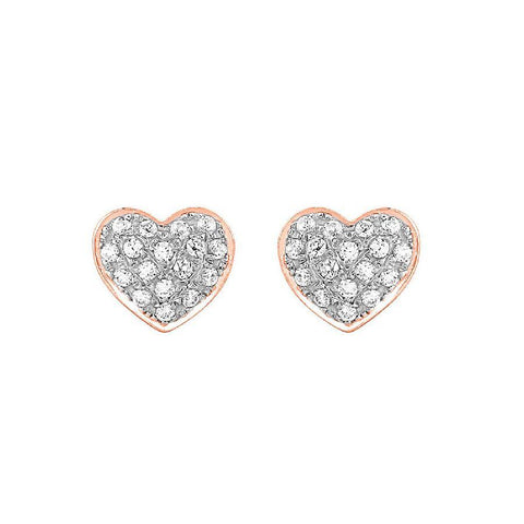 Image of Neo Studs and Tops in Rose Gold