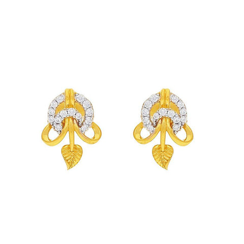 Image of Blazy Leaf Earring