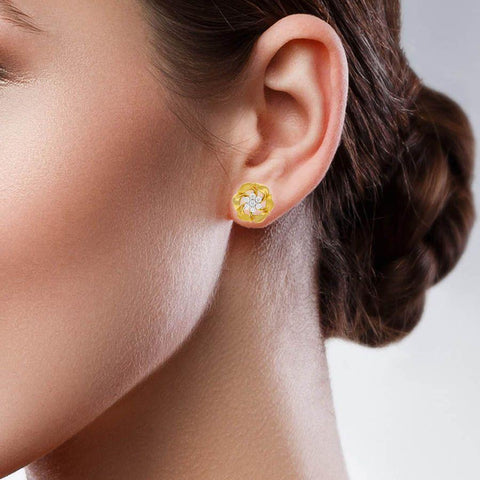 Image of The Craftsy Leaf Earring