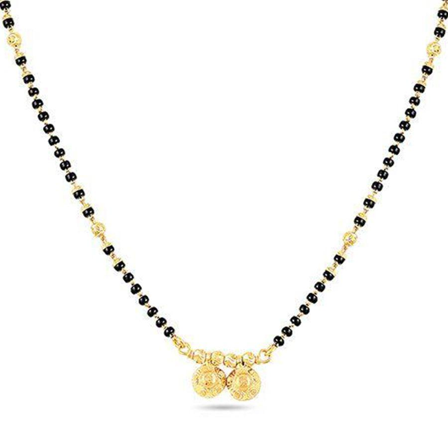 22 KT Yellow Gold Mangalsutras in 7.26 gms (With Chain)