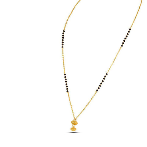 Image of 22 KT Yellow Gold Mangalsutras in 4.55 gms (With Chain)