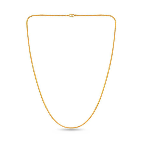 Image of Plain gold V chain