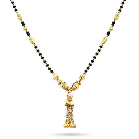 Image of Fringe Mangalsutra (With Chain)
