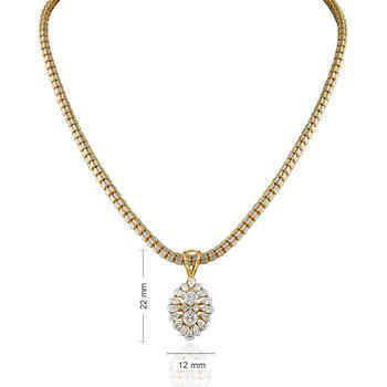 Image of 18 KT Yellow Gold Party Wears in 4.604 gms