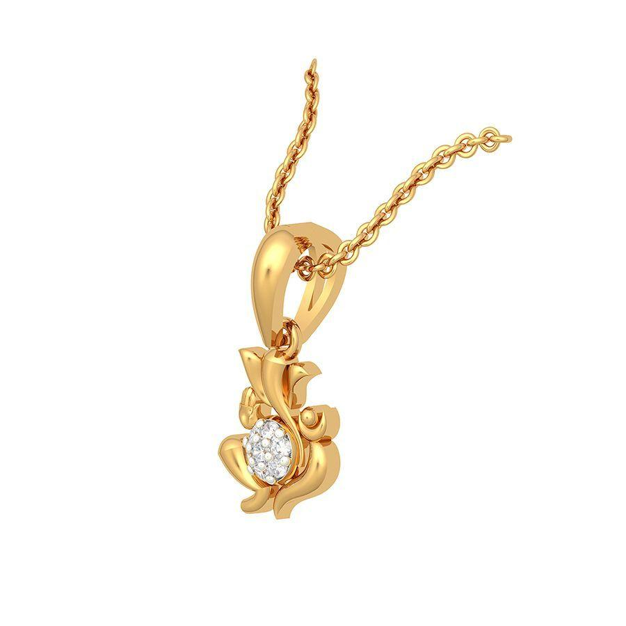 The Deistic Ganesha Pendant
