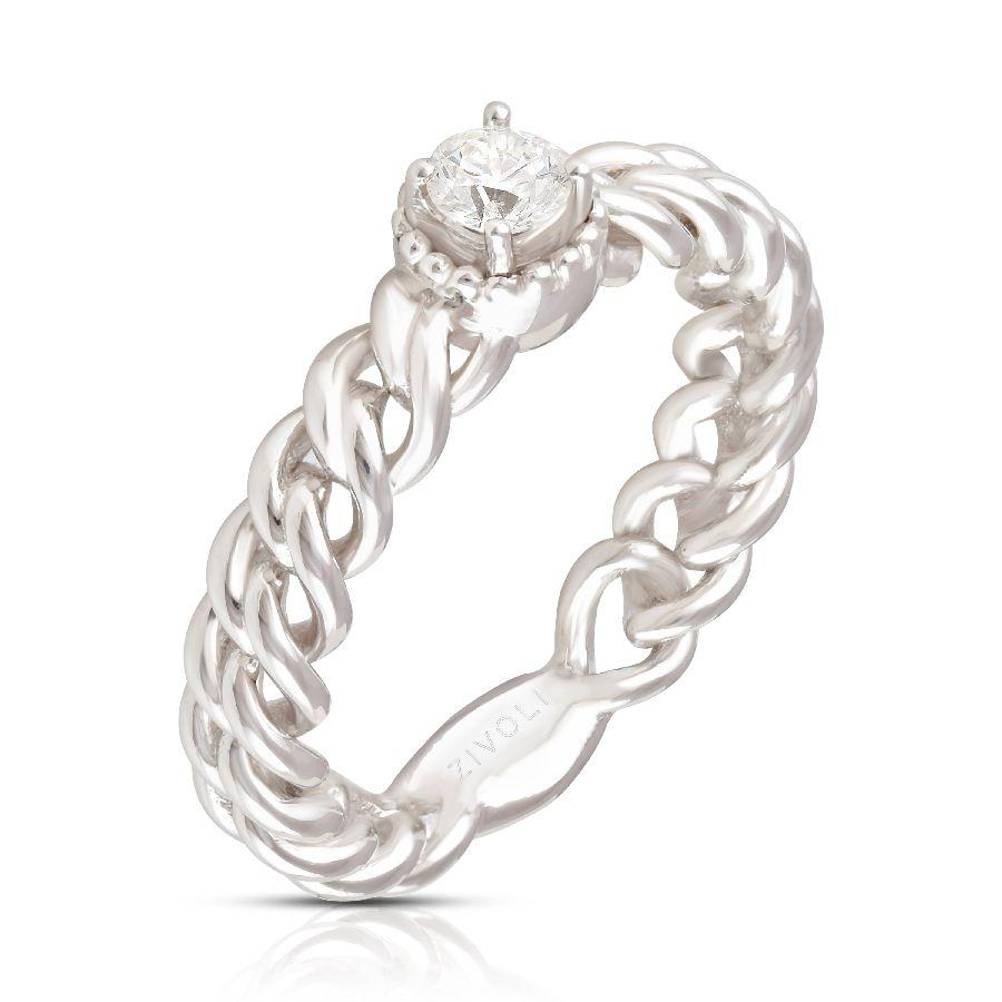 New-Age Solitaire Ring
