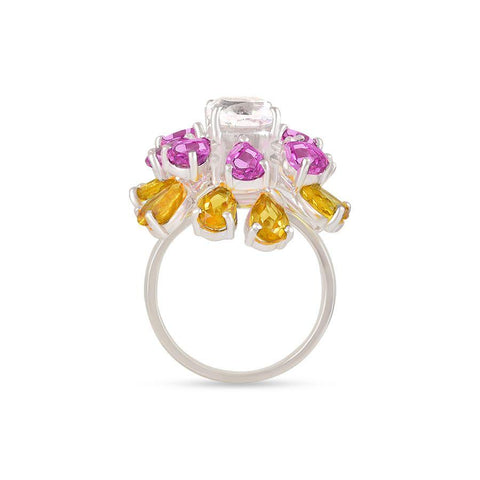 Moving Petal Ring