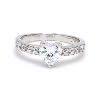Image of AD Heart Solitaire Believe In Love .