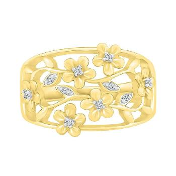 Image of Impressive Floral Ring