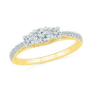 Magnificent 3 Stone Diamond Ring