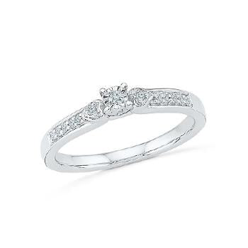 Image of I Do Diamond Engagement Ring
