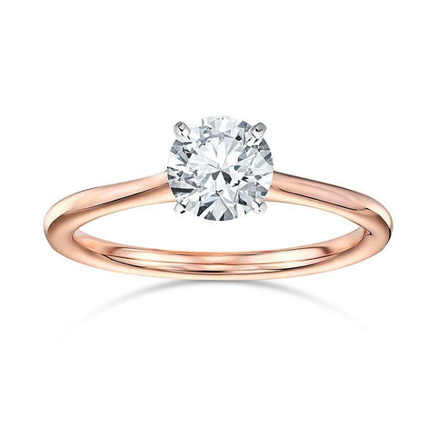 Neo Engagement Rings in Rose Gold